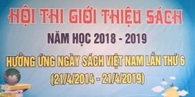 TỔNG KẾT HỘI THI GIỚI THIỆU SÁCH NĂM HỌC 2018-2019
